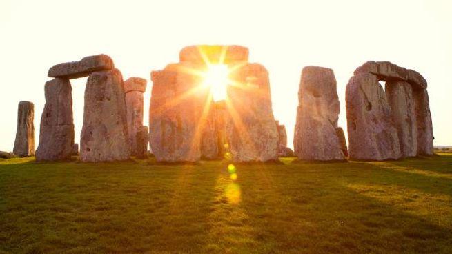 Il sito Stonehenge, in Gran Bretagna