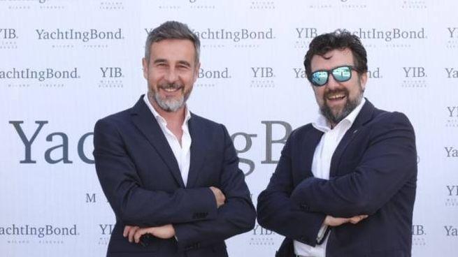 Il direttore Matteo Ratti con Antonio Oretti