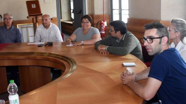 L'incontro dei lavoratori col sindaco