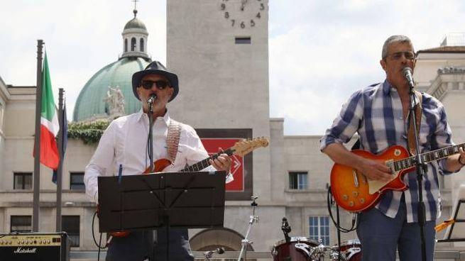 Un concerto in piazza Vittoria