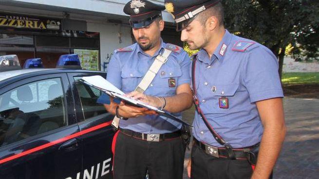 I derubati hanno presentano denuncia ai carabinieri (Mdf)