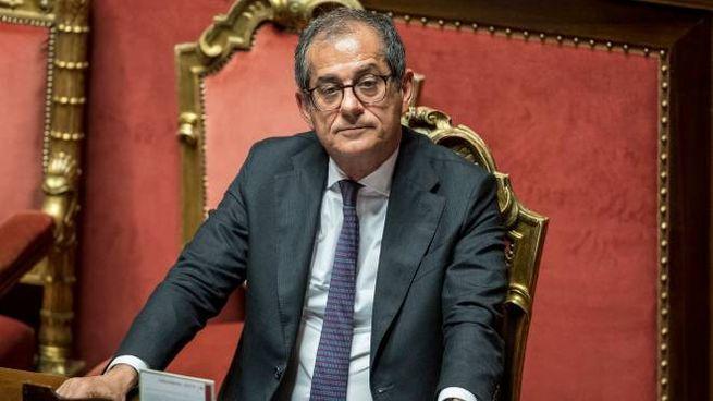 Il ministro dell'Economia Giovanni Tria (LaPresse)