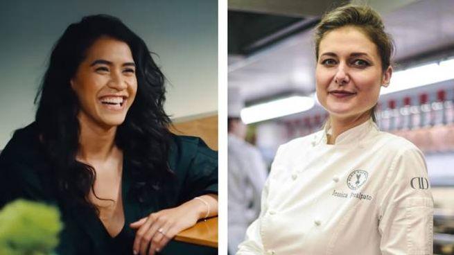 Daniela Soto-Innes (s) e Jessica Préalpato (d) - Foto LaPresse/World's 50 Best Restaurants