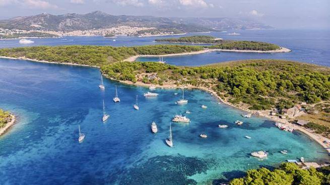 In crociera gratis fra le isole della Croazia