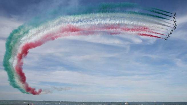 Valore Tricolore, le Frecce Tricolori a Punta Marina (foto Zani)