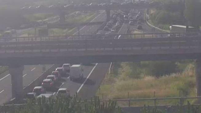 Traffico caos nel nodo fiorentino della A1