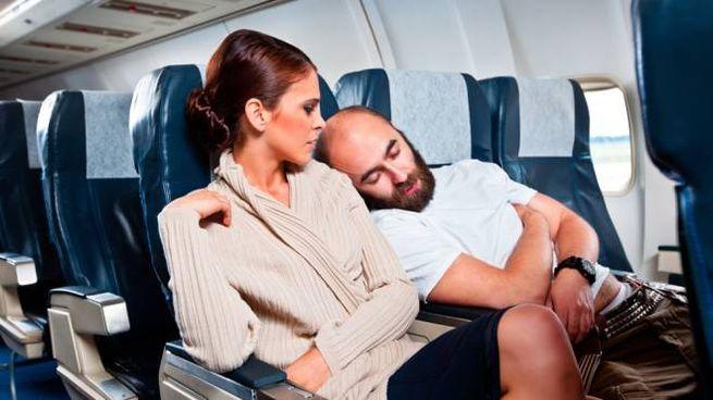 La maleducazione in aereo è cosa comune