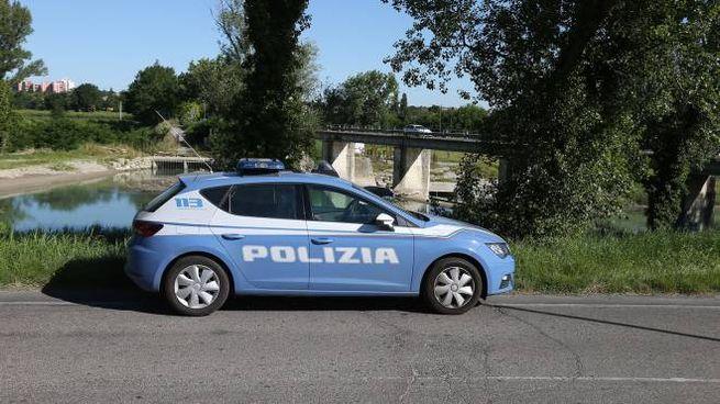 Imola, cadavere nel fiume Santerno: sul posto la polizia (Isolapress)