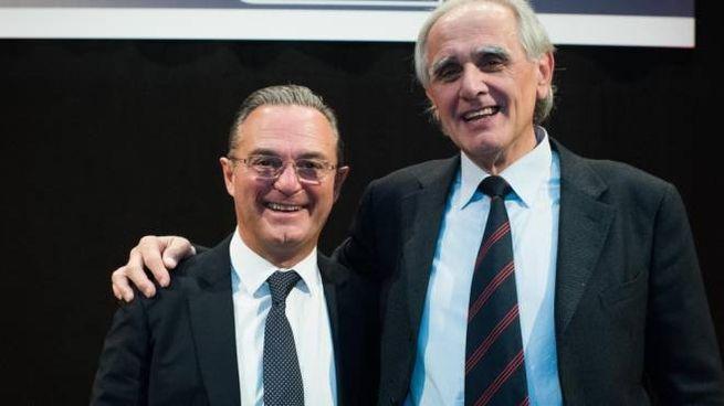 Il direttore generale Stefano De Maria e il presidente del consorzio Maurizio Tonelli