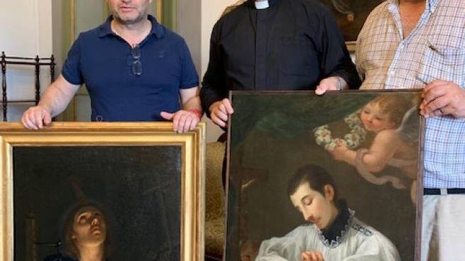 Da sinistra, Pierluigi Carofano, don Francesco Bachi, Stefano Renzoni