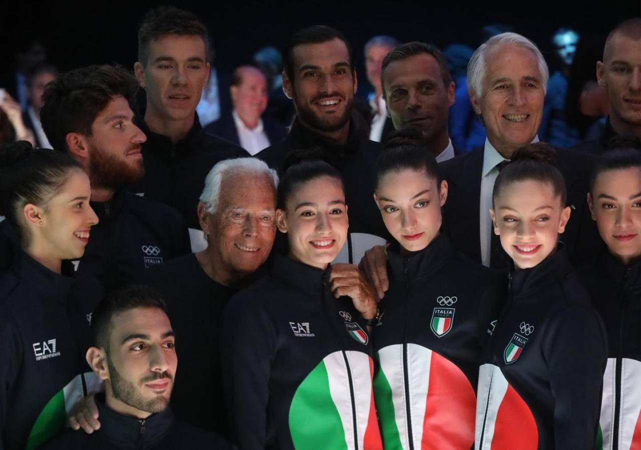 1e15b07d4e Emporio Armani veste l'Italia alle Olimpiadi di Tokyo 2020 - Moda ...