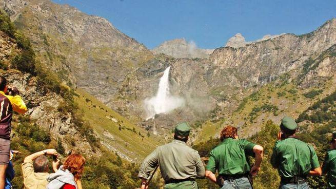 Le cascate del Serio
