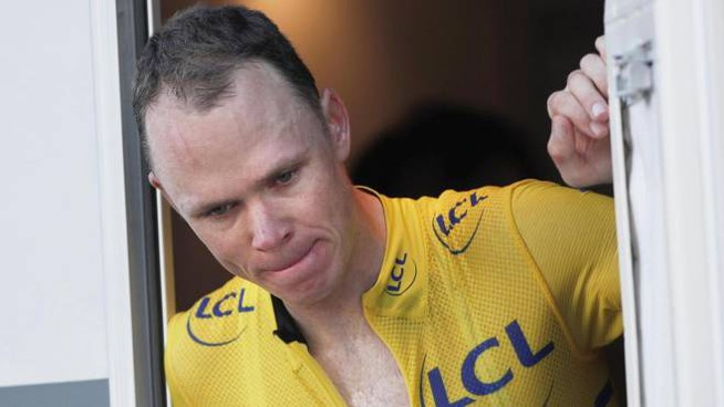 Christopher Froome (Ansa)