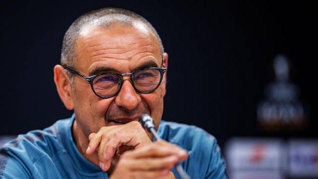 Juventus, Maurizio Sarri (foto Ansa)