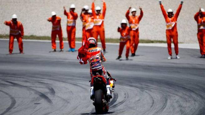 MotoGp Catalunya 2019, vince Marquez (Ansa)