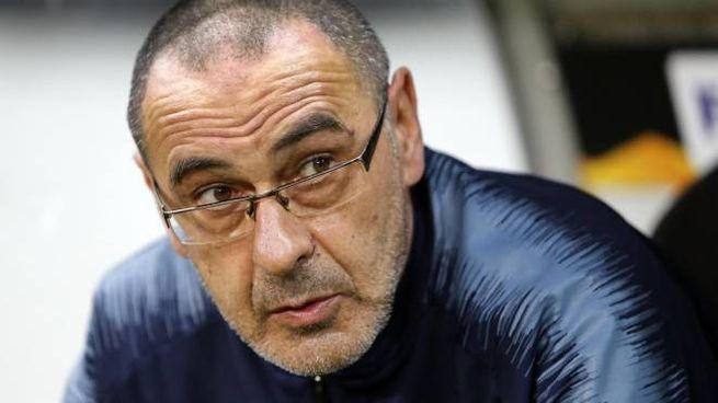 Juventus, il nuovo allenatore Maurizio Sarri (foto Ansa)