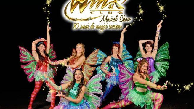 Winx Club musical Club Show - 10 anni di magici successi