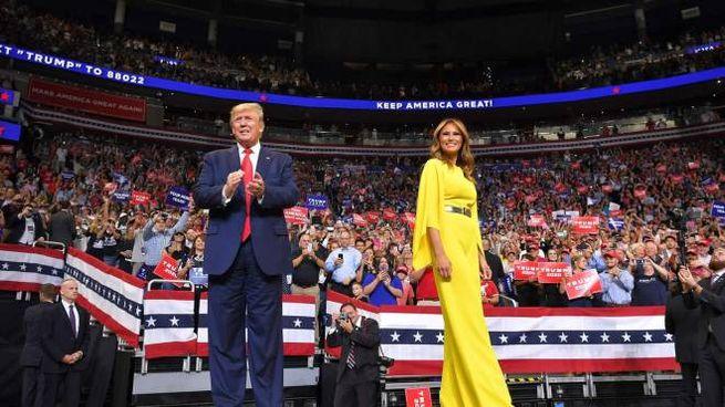 Donald e Melania Trump (AFP)