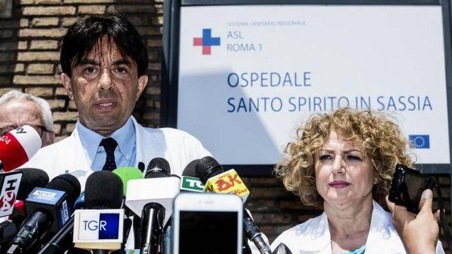 Bollettino medico Camilleri (Ansa)