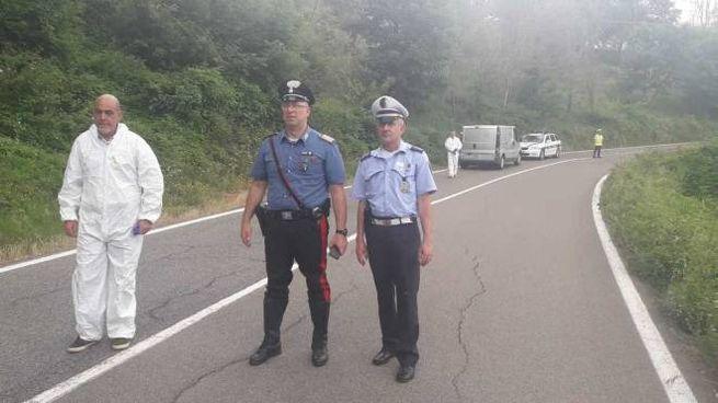 Carabinieri e municipale sul posto