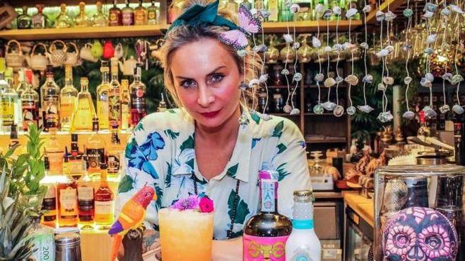 The Sisters, il cocktail di Samantha Migani, barlady e titolare dell'Hawaiki di Bellaria