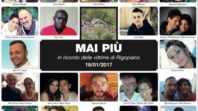 Rigopiano, le foto delle 29 vittime
