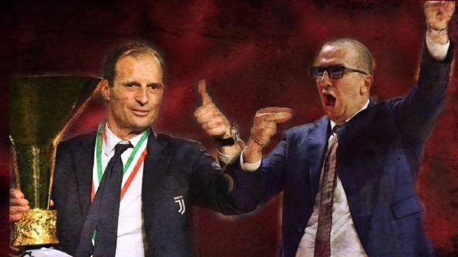 Massimiliano Allegri e Walter De Raffaele