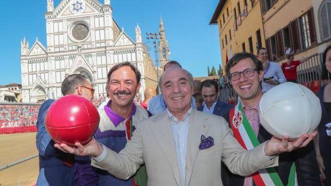 Calcio Storico, Rocco Commisso prima della finale (Germogli)