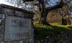 La casa natale di Leonardo, punto di arrivo di studiosi e viaggiatori.