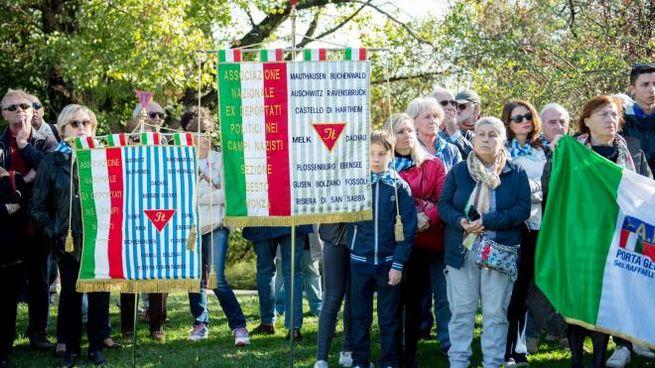Una delle manifestazioni della sezione dell'Aned
