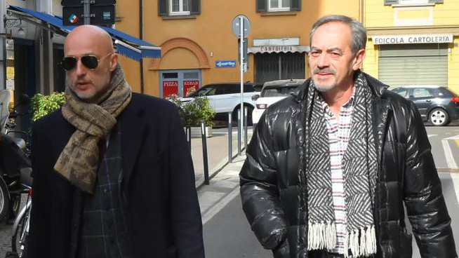 Il legale Liborio Cataliotti con il suo assistito Santo Gnoni