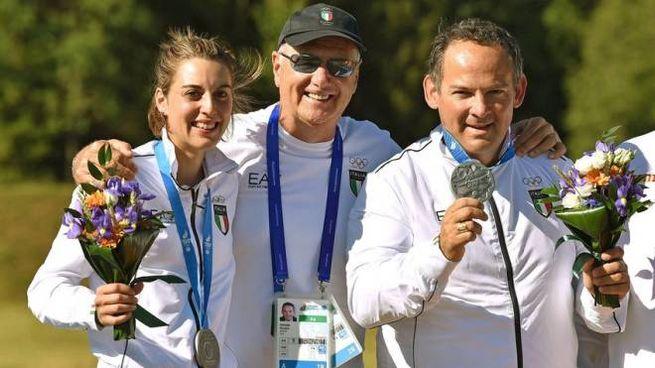 Jessica Rossi e Giovanni Pellielo (foto Coni)