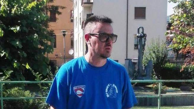 L'allenatore spezzino Andrea Cristelli