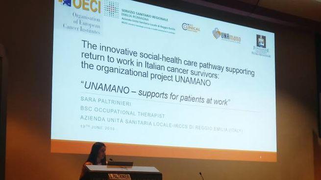 La presentazione del progetto dell'Ausl di Reggio Emilia