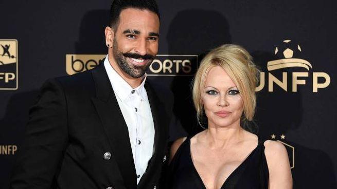 Rami e Pamela Anderson (LaPresse)