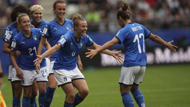 Aurora Galli firma il 2-0 (Ansa)