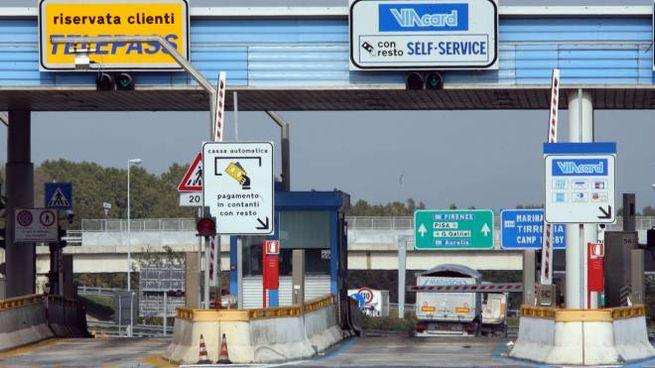 Casello autostradale, foto di repertorio (Ansa)