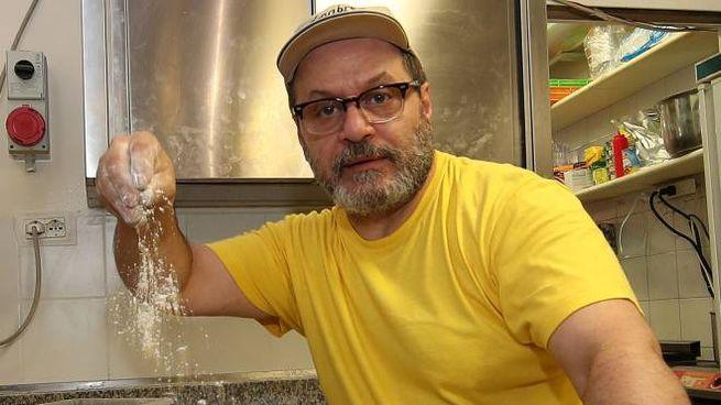 Maurizio Ralli della pizzeria 'Mauri' (Fotoprint)