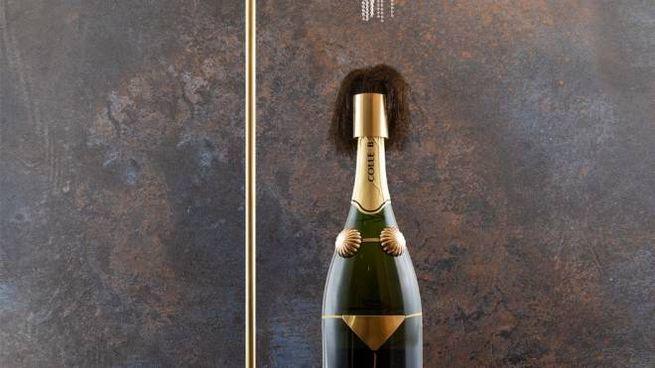 La bottiglia interpretata dall'architetto Leonardo Zorzet