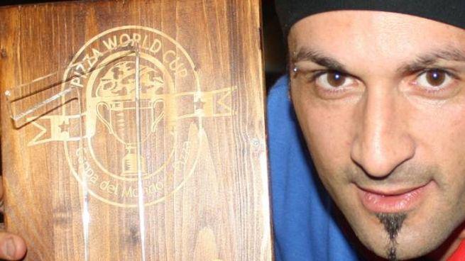Gianluca Passetti, che ha vinto la World Cup dei pizzaioli