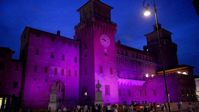 Notte Rosa, il Castello Estense a Ferrara (Businesspress)