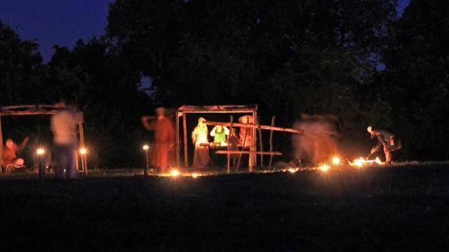 Un'iniziativa di una passata edizione delle Notti dell'Archeologia