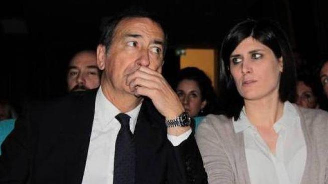 Beppe Sala e Chiara Appendino