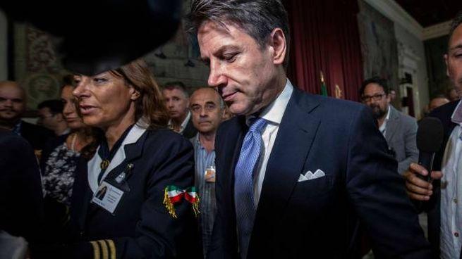 Il premier Giuseppe Conte (ImagoE)