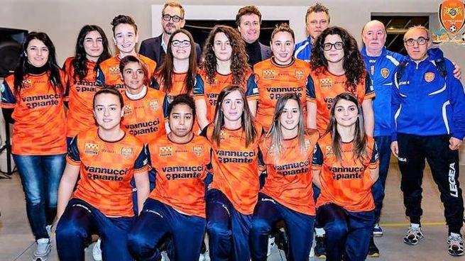 La Pistoiese prima squadra da uno degli sponsor, la Vannucci Piante