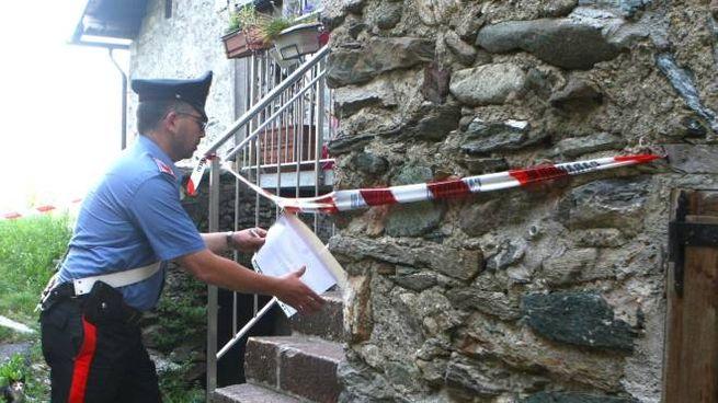 L'abitazione è stata posta sotto sequestro