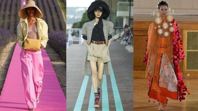 La moda tricolore lancia la sfida a Parigi