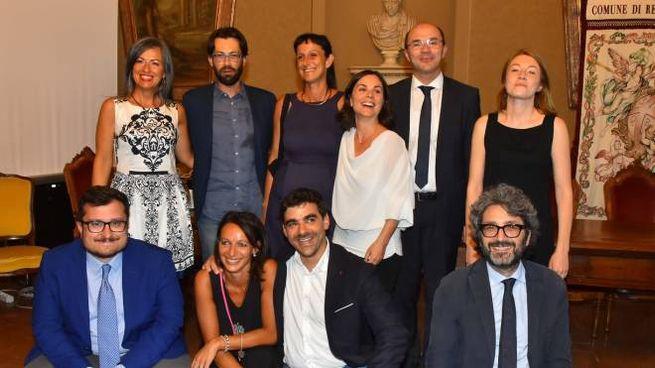 Reggio Emilia, la nuova giunta (foto Artioli)