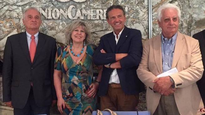 Claudio Pasini, Simona Caselli, Maurizio Magni e Pierluigi Sciolette