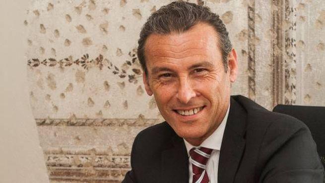 Il presidente Corrado Casoli